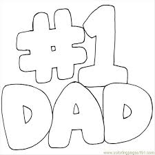 Small Picture Number 1 Dad Coloring Pages Coloring Pages