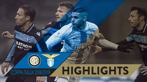 INTER 1-1 LAZIO (3-4 pen) | HIGHLIGHTS | 2018/19 Coppa Italia Quarter  Finals - YouTube