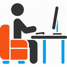 Administrator Armchair Blogger Boss Coder Desk Office Icon