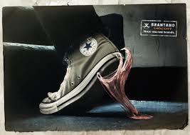 brantano shoe city chewing gum advertising agency leo burnett i was browsing and found this photo manipulated advertisement i love it i love photo manipulation so i found more enjoy if you would like to see