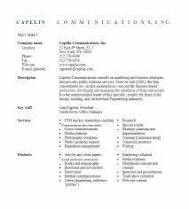 Sample Fact Sheet Template Faq For Resume Free – Newbloc