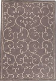 mat gray hilo solid color rug