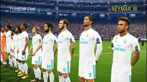 barcelona vs real madrid free kick uefa chions league pes 2018 football live