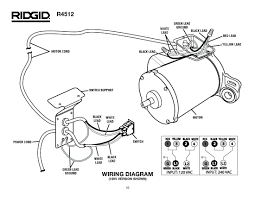 ridgid drain cable schematics diagram basic guide wiring diagram \u2022 Motor Wiring Drawing at Drain Auger Motor Wiring Diagram