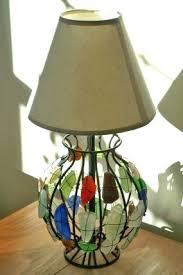 sea glass lamp sea glass lamp sea glass chandelier corbett lighting