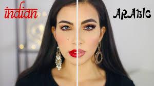 arabic makeup vs indian makeup