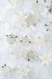 Snowflake String Lights | Anthropologie