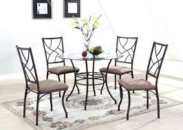 remarkable round glass kitchen table sets antique dining room white 5 ii from top dinette