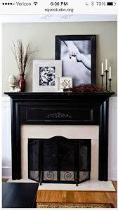 decorating fireplace mantels pictures and tall plants big decorations for a big space
