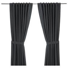 ritva curtains with tie backs 1 pair