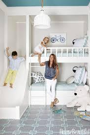 bedroom design for kids. bunk room with slide by andrew howard interior design nunca habeis soñado con esto? bedroom for kids 0