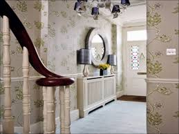 hallway office ideas. Hallway Decorating Ideas Wallpaper White With Dado Rail Furniture And Interior Landing Mirror Niche Stairs Window Office