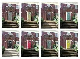 exterior door painting ideas. Modren Ideas Exterior Paint Colors With Red Brick Front Door  House Ideas To Exterior Door Painting Ideas