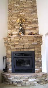 How To Install Stacked Stone Veneer Wall TilesStacked Stone Veneer Fireplace