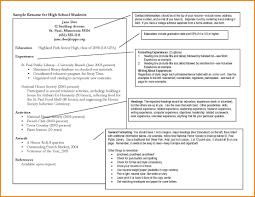 12 College Sample Resume Graphic Resume