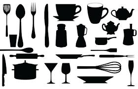 Free svg image & icon. Articles De Cuisine Kldezign Les Svg Pochoirs Gratuits Scrapbooking Cuisine Pochoir Silhouette