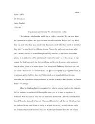 into the wild essays on isolation chris mccandless now i walk into the wild jessica mcfadden