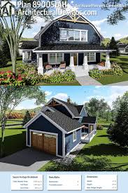 Plan 46158SE: T-Shaped Farmhouse Design   Farmhouse design ...
