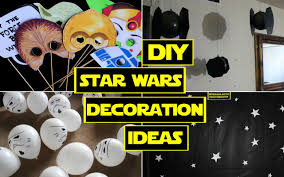 Decorative Stars For Parties Diy Star Wars Decorations Star Wars Party Youtube