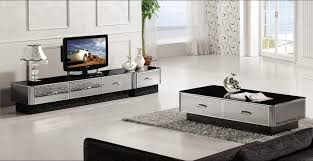 mirror tv unit. aliexpress.com : buy modern gray mirror furniture, coffee table,tv cabinet and drawer set, grand smart living room house set yq139 from reliable tv unit r