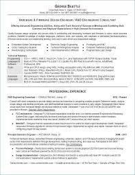 Resume Templates For Engineers Amazing Engineering Manager Resume New 48 Engineering Resume Templates