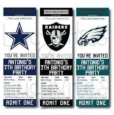 Invitation Ticket Template Fascinating Football Ticket Invitation Template Rjengineeringnet