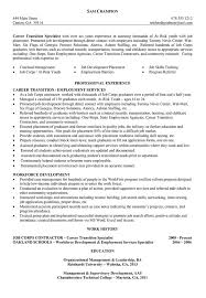 Functional Resume Template For Career Change Career Change Resume