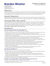 resume objective for server