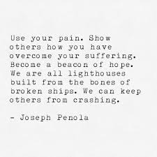 personal essays transforming tragedy into hope after my suicide  joseph quote 2