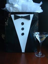 White Tie With Decorations How To Make James Bond Decorations Graduation Gift Bag Create