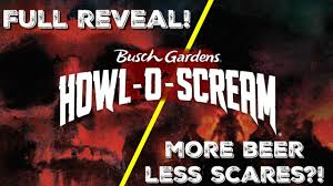 howl o scream 2018 full reveal house list scare zones tickets more beer less scares