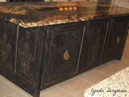hand painted bird nest artwork on stools for christa s beautiful new black distressed kitchen island