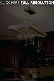 pot rack chandelier with downlights fetching leaf light chandelier pot rack tiger glass shade lighting medium