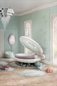 Seventeen Bedroom A The Little Mermaid Clamshell Bed Now Exists In The World