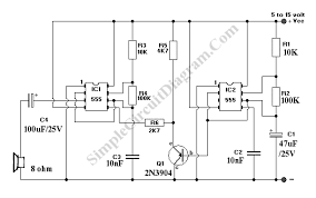 siren circuit page security circuits gr wailing alarm siren