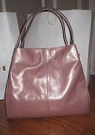 NWT-COACH LARGE METALLIC ROSE GOLD LEATHER MADISON PHOEBE SHOULDER HANDBAG   475