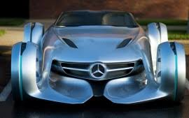 mercedes benz biome blue. mercedes benz silver arrow concept hd biome blue m
