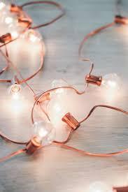Diy Rose Gold Holiday Lights Diy Dekoration Dekor Gold Diy