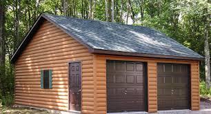 Free garage building plans detached wholesale Steel Two Car Garages Wholesale Direct Carports Quick Build Detached Two Car Garages From The Amish