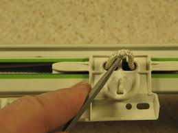 curtain rod center adjustment pull out the loop