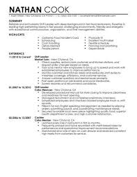 Restaurant Resume Delectable Shift Leader Resume Example Restaurant Amp Bar Sample Resumes
