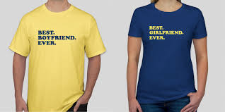 Boyfriend Girlfriend Shirt Designs Swoonworthy Custom Couples Shirts Designs Custom Ink