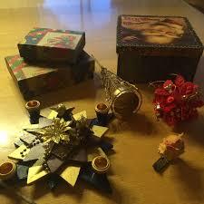 Dekoration Weihnachten Blumenstecker Kerze
