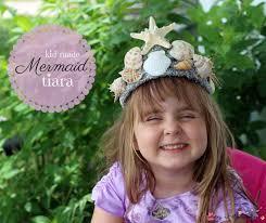 kid made mermaid tiara a gorgeous diy tiara for a mermaid costume or mermaid