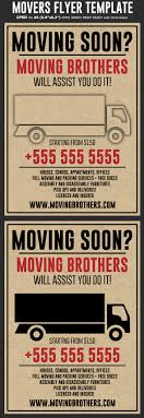 Moving Flyer Template Hotpin Templates Moving Company Flyer Template