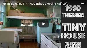 furniture for tiny houses. https://www.tinyqualityhomes.org/1950s-themed-retro-tiny-house -with-chandelier/ furniture for tiny houses