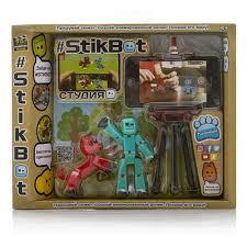 <b>Игровой набор</b> Zing Global Ltd Студия <b>Stikbot</b> с питомцем ...