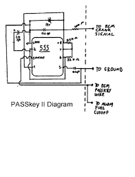 passkey ii bypass box connect to vats wire of ecm also connect alarm to ground this pin to disable fuel delivery when armed