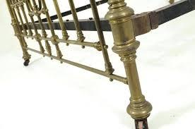 antique brass bed. Bed Post Finials Brass Antique Queen Size Half Tester