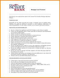 Mortgage Loan Processor Resume Sample Resume Template For Career Download Free Free Career Resume 21